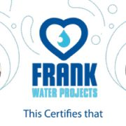 Trivandi Raises Over £2,000 for FRANK Water
